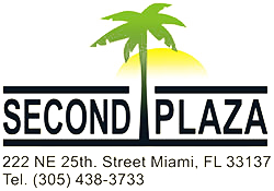 company logo second plaza